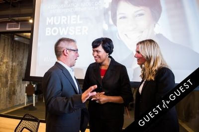 muriel bowser in DC Tech Meets Muriel Bowser