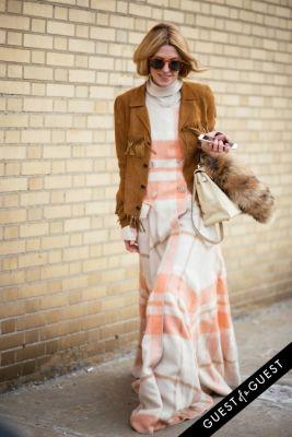 adi heyman in NYFW Street Style Day 5