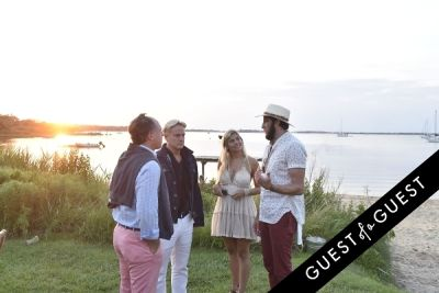 daniel benedict in Cointreau & Guest of A Guest Host A Summer Soiree At The Crows Nest in Montauk