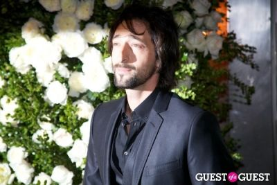 adrien brody in Chanel Tribeca Film Festival Dinner