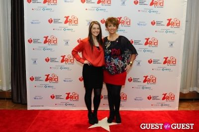 agata torbus in The 2013 American Heart Association New York City Go Red For Women Luncheon
