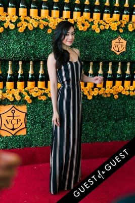 aimee garcia in The Sixth Annual Veuve Clicquot Polo Classic Red Carpet