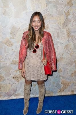 aimee song in Alice and Olivia Presentation