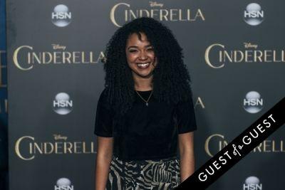 aisha dee in Premiere of Disney's