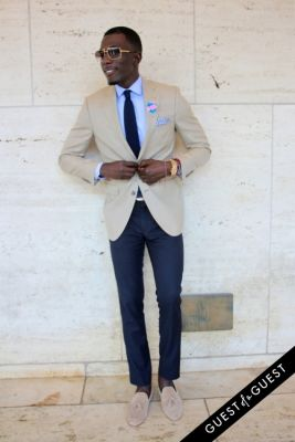 akief sheriff in NYFW Style From the Tents: Street Style Day 3