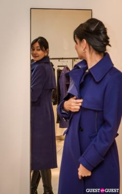 akiko in SportMax and ELLE Celebrate the Holidays!