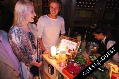 alban delierre in COINTREAU & GUEST OF A GUEST HOST AN END OF SUMMER SOIRÉE AT GEMMA