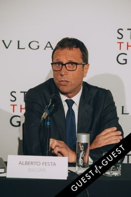 alberto festa in BVLGARI Partners With Save The Children To Launch