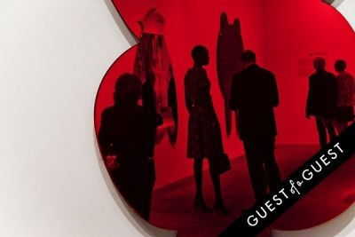 alek wek in Jeff Koons: A Retrospective Opening Reception