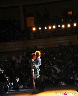 julia kristin in Richie Rich's NYFW runway show