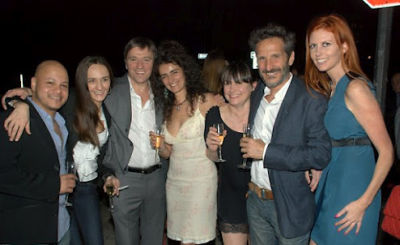 alessandra rotondi in Serafina Meatpacking Grand Opening!