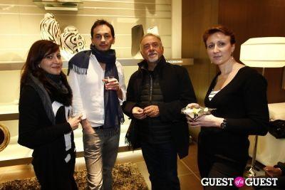 giorgio faletti in NATUZZI ITALY 2011 New Collection Launch Reception / Live Music