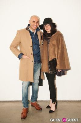lindsey schwartz in NYC Fashion Week FW 14 Street Style Day 6