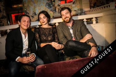 rachel thamas.-wes-cragin in Journelle Kicks off NYFW at The Box