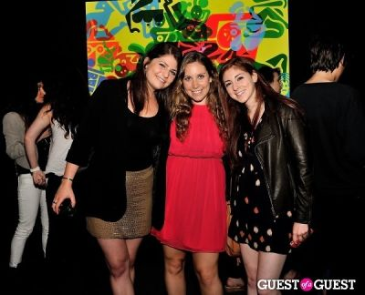 alex goldstein in Young Art Enthusiasts Inaugural Event At Charles Bank Gallery
