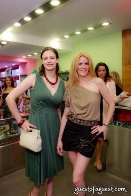 alex mccord in Sip & Shop for a Cause benefitting Dress for Success
