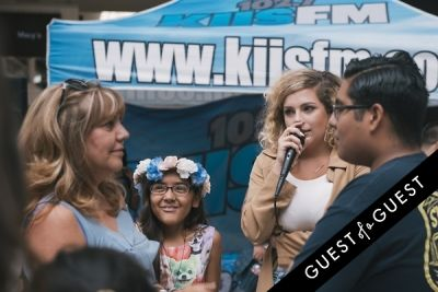 alex on-the-mic in Back-To-School with KIIS FM & Forever 21 at The Shops at Montebello