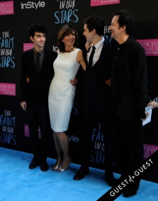 nat wolff in The Fault In Our Stars Premiere