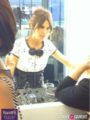 alexa chung in CHANEL Party FW10