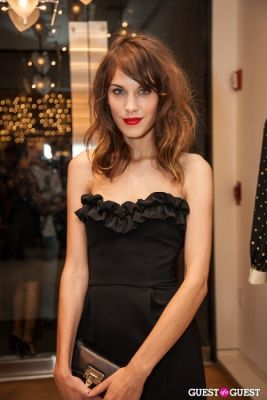 alexa chung in Last Night's Parties: Anna Wintour, DVF, Alexa Chung & More Hit The Streets For FNO 9/7/2012