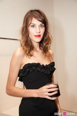 alexa chung in Moschino Celebrates Fashion's Night Out 2012