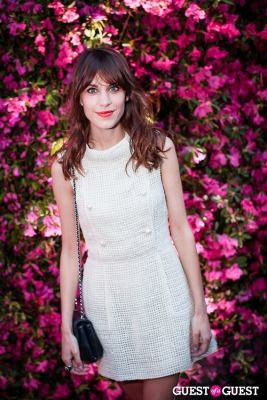 alexa chung in Chanel Hosts Eighth Annual Tribeca Film Festival Artists Dinner