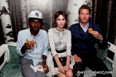 dev hynes in Rebecca Taylor At Rm.Fifty-5 Party