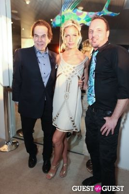 alexa winner in Opening Party of Kevin McHugh Exhibition at THE OUT NYC