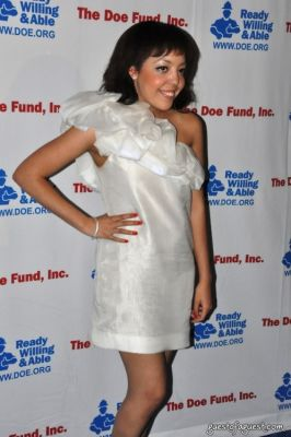 alexandra alexis in THE DOE FUND'S Celebrity Dj Series