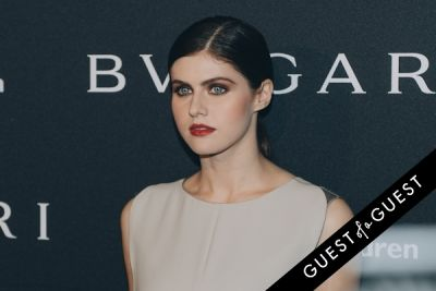 alexandra daddario in BVLGARI Partners With Save The Children To Launch