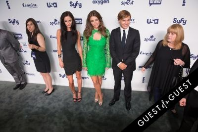 elizabeth hurley in NBCUniversal Cable Entertainment Upfront