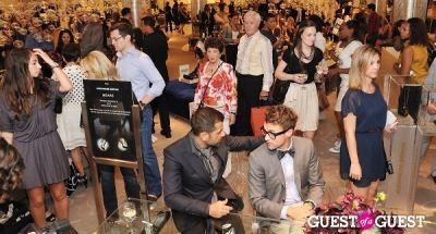 brad goreski in Alexandre Birman at Saks Fifth Avenue