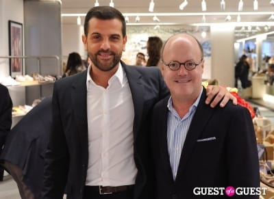 robert burke in Alexandre Birman PA at Bergdorf Goodman