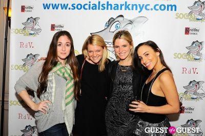 alexis feldman in SocialSharkNYC.com Launch Party