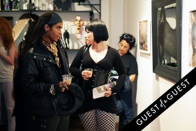 ali in Art Now NY Opening of