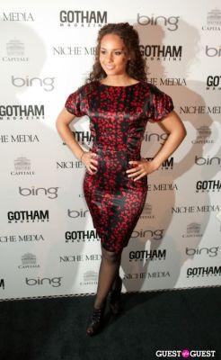 alicia keys in Gotham Magazine Annual Gala