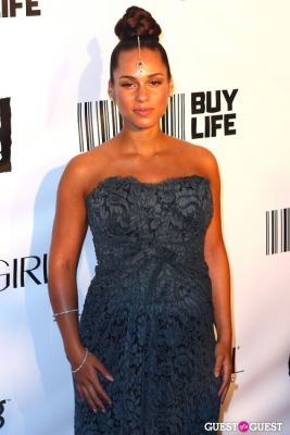 alicia keys in COVERGIRL Presents, Keep A Child Alive's Black Ball NY 2010