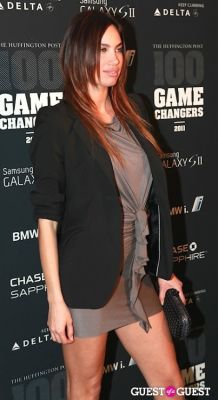 alina puscau in 2011 Huffington Post and Game Changers Award Ceremony