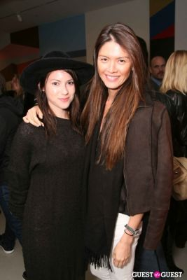 aline makashia in Clare Rojas Exhibition Opening at PRISM LA