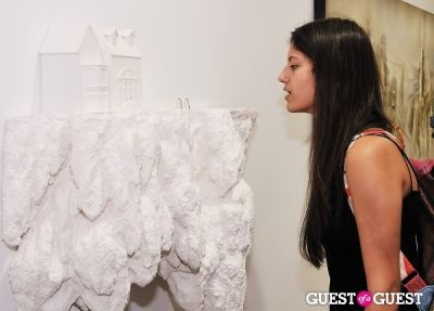 alisha bhaumik in Ronald Ventura: A Thousand Islands opening at Tyler Rollins Gallery
