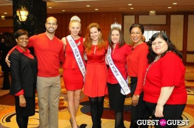 maria galarza in The 2014 AMERICAN HEART ASSOCIATION: Go RED For WOMEN Event