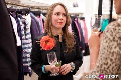 alison devenny-hetherington in Ovarian Cancer National Alliance Private Event with J.Crew