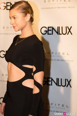 allie gonino in Genlux Magazine Winter Release Party with Kristin Chenoweth