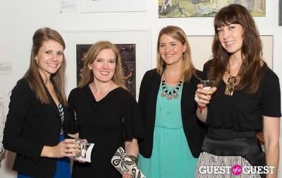 lisa conquergood in Cat Art Show Los Angeles Opening Night Party at 101/Exhibit