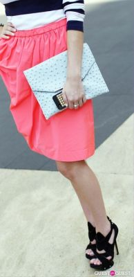 allison prenger in NYFW Day 2 Street Style At The Tents