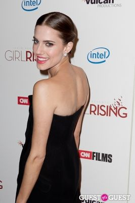 allison williams in Girl Rising Premiere