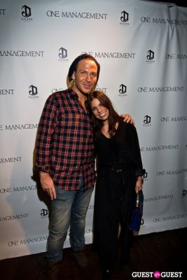 ally hilfiger in One Management 10 Year Anniversary Party