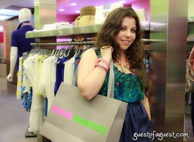 ally zarin in Sip & Shop for a Cause benefitting Dress for Success