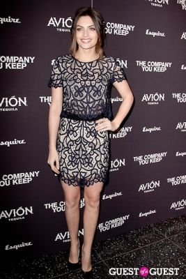 alyssa miller in Avion Espresso Presents The Premiere of The Company You Keep