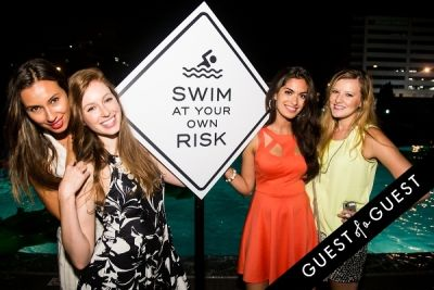 rachel mackay in Design Army X Karla Colletto Pool Party